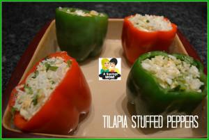 Tilapia Stuffed Peppers