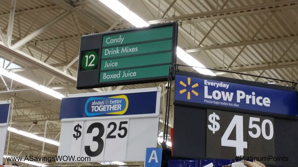 #PlatinumPoints #CollectiveBias #shop Walmart