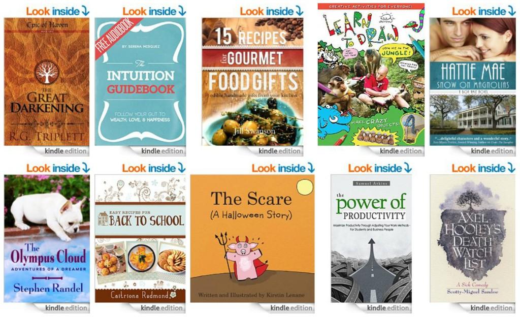 10 Free Kindle Books 9-30-14