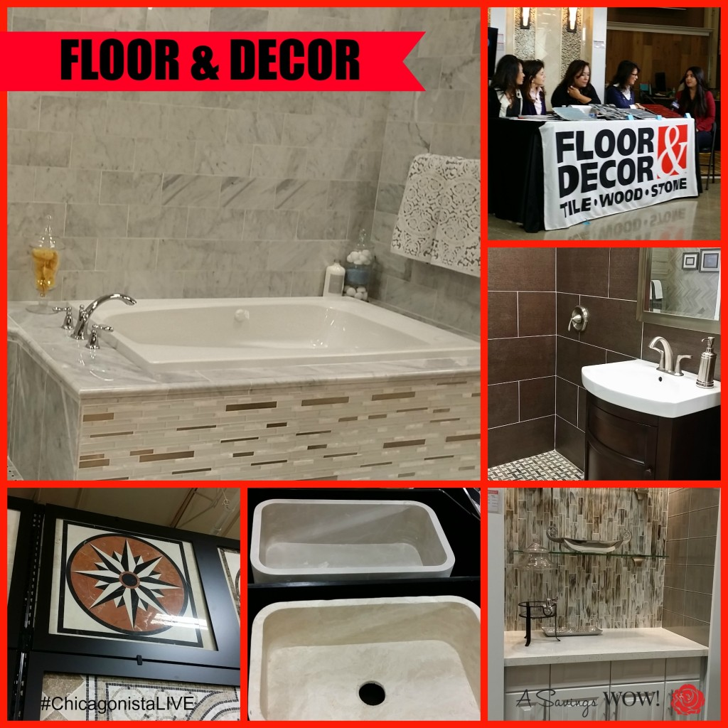 #ChicagonistaLIVE Floor and Decor