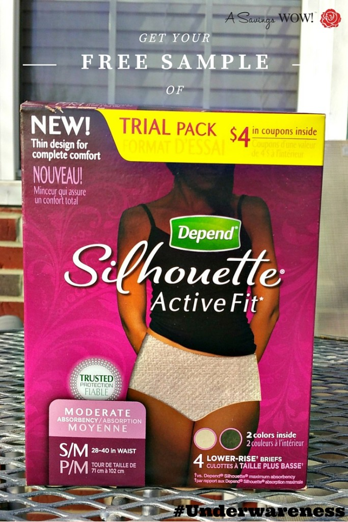 Depend Silhouette Active Fit #Underwareness