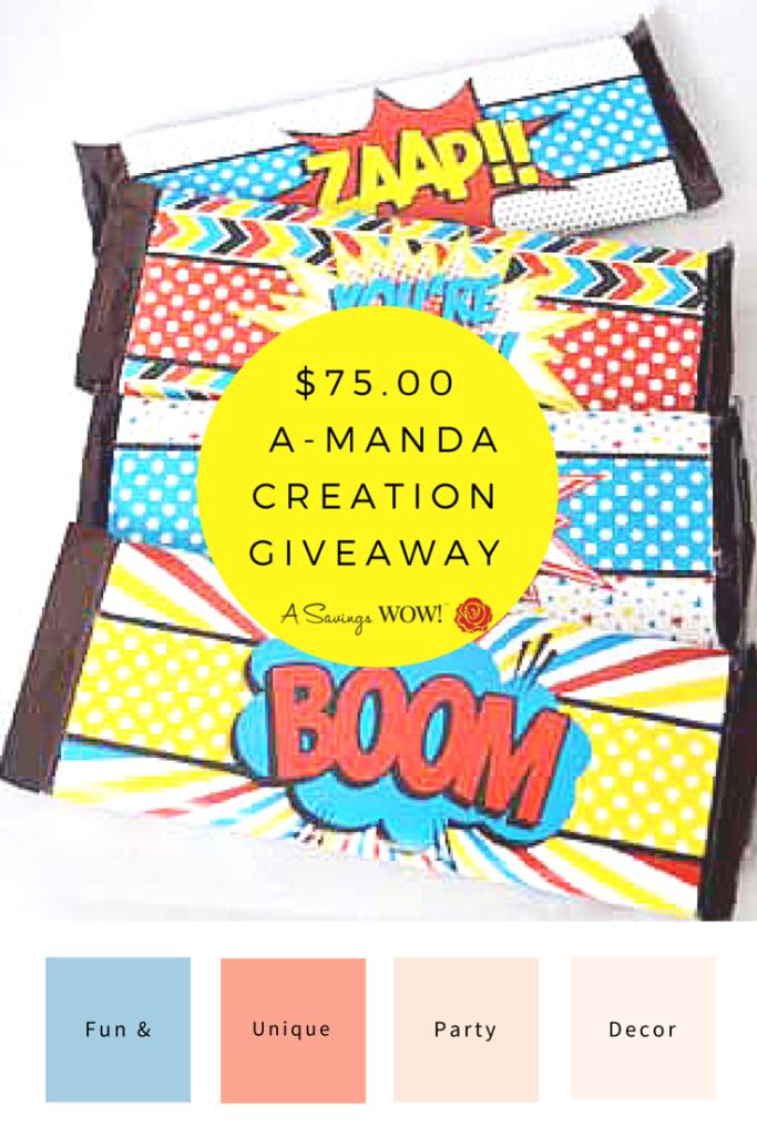 A-Manda Creation Giveaway