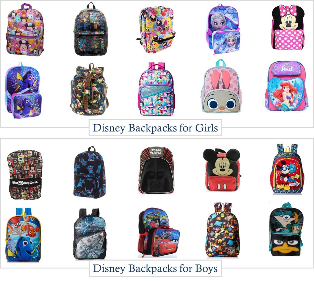 20 Disney Backpacks for Boys and Girls