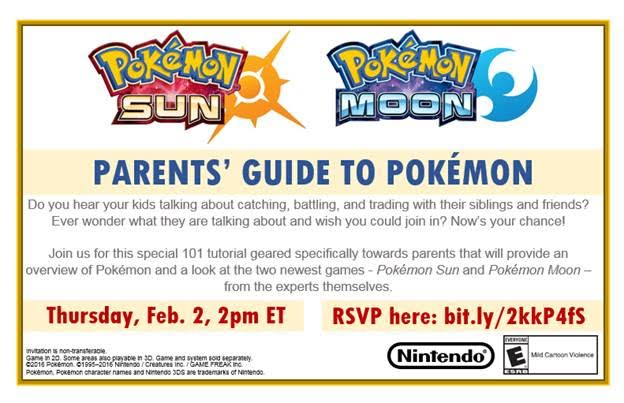 Parents Guide to Pokemon